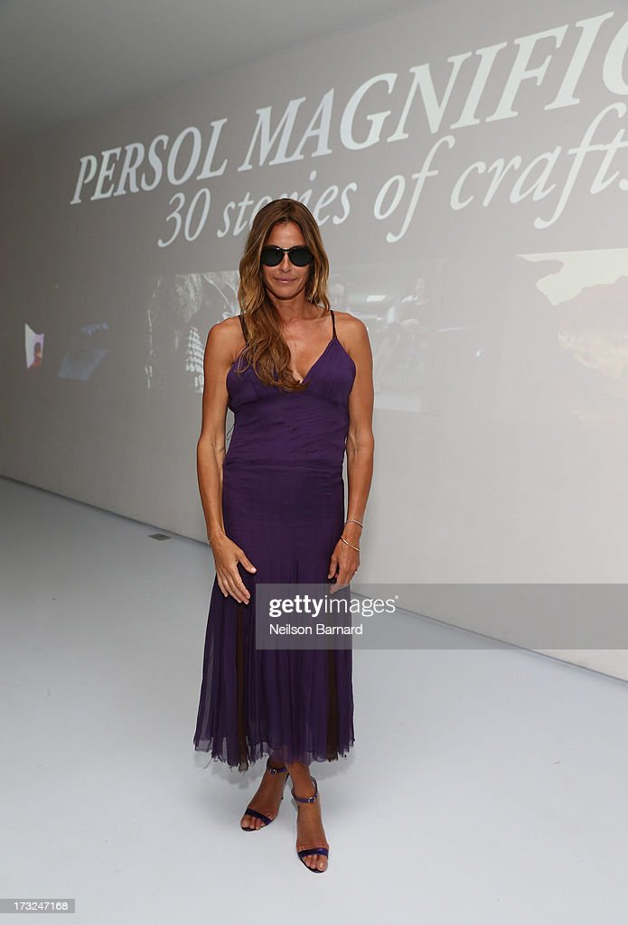 TV Personality Kelly Bensimon attends the Persol Magnificent Obsessions event honoring Julie Weiss and Jeannine Oppewall at the MMI on July 10, 2013 in New York City.