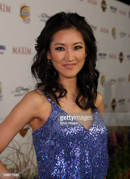 TV Personality Kelly Choi arrives at the 11th annual Maxim Hot 100 Party with HarleyDavidson ABSOLUT VODKA Ed Hardy Fragrances and ROGAINE held at...