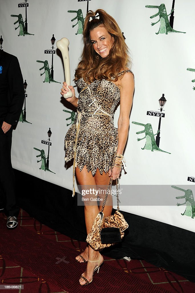TV personality Kelly Killoren Bensimon attend the 18th Annual 'Hulaween In The Big Easy' Event at The Waldorf=Astoria on October 31, 2013 in New York City.