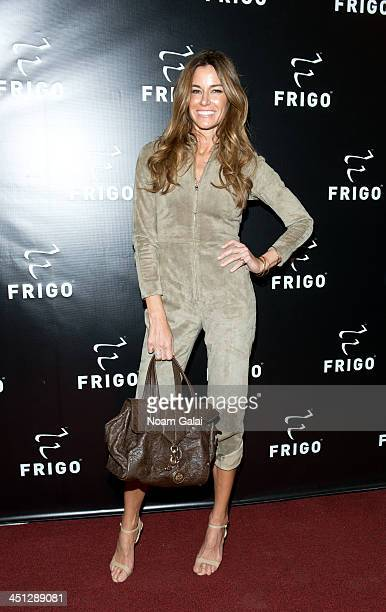 TV personality Kelly Killoren Bensimon attends the launch party of the Frigo PopUp Store on November 21 2013 in New York City