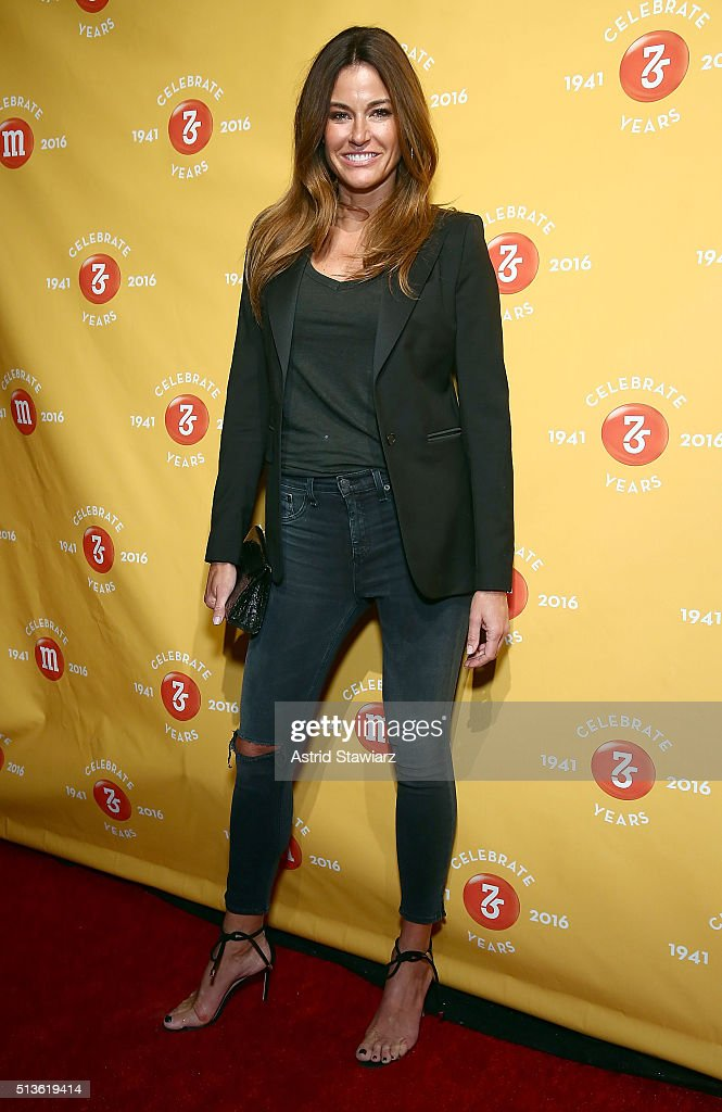TV personality Kelly Killoren Bensimon attends the MM's 75th Birthday Launch Event at the Altman Building on March 3 2016 in New York City