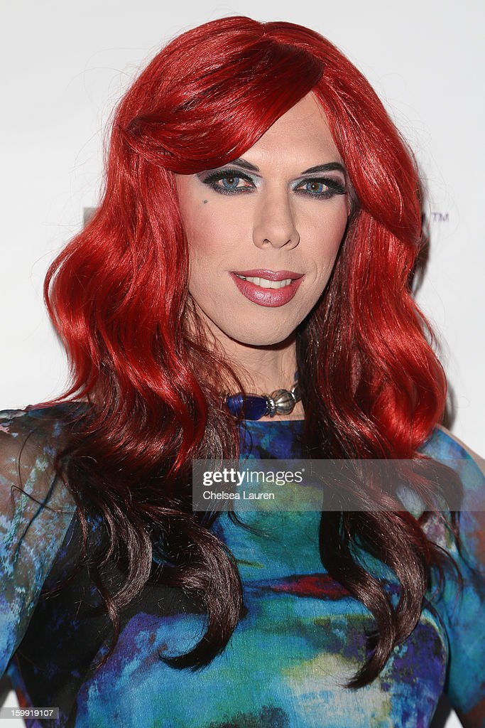 TV personality <a gi-track='captionPersonalityLinkClicked' href=/galleries/search?phrase=Kelly+Mantle&family=editorial&specificpeople=4204270 ng-click='$event.stopPropagation()'>Kelly Mantle</a> arrives at 'Rupaul's Drag Race' season 5 premiere party at The Abbey on January 22, 2013 in West Hollywood, California.