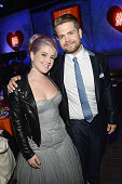 Personality Kelly Osbourne and Jack Osbourne attend the 20th Annual Race To Erase MS Gala 'Love To Erase MS' at the Hyatt Regency Century Plaza on...