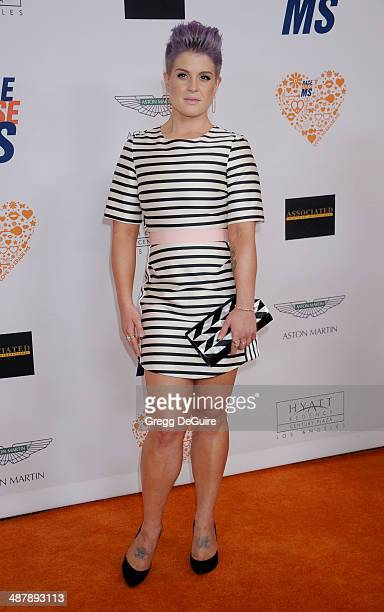 TV personality Kelly Osbourne arrives at the 21st Annual Race To Erase MS Gala at the Hyatt Regency Century Plaza on May 2 2014 in Century City...