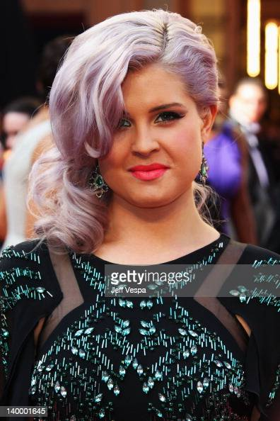 TV personality Kelly Osbourne arrives at the 84th Annual Academy Awards held at the Hollywood Highland Center on February 26 2012 in Hollywood...