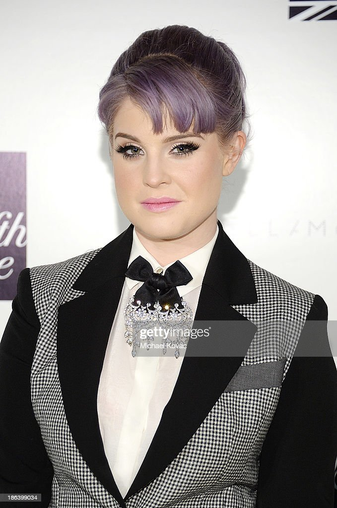 TV personality <a gi-track='captionPersonalityLinkClicked' href=/galleries/search?phrase=Kelly+Osbourne&family=editorial&specificpeople=156416 ng-click='$event.stopPropagation()'>Kelly Osbourne</a> arrives at the Fourth Annual Autumn Party With Stella McCartney on October 30, 2013 in Los Angeles, California.