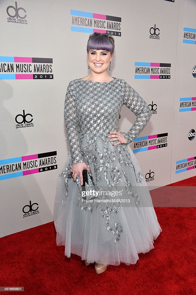 TV personality <a gi-track='captionPersonalityLinkClicked' href=/galleries/search?phrase=Kelly+Osbourne&family=editorial&specificpeople=156416 ng-click='$event.stopPropagation()'>Kelly Osbourne</a> attends 2013 American Music Awards at Nokia Theatre L.A. Live on November 24, 2013 in Los Angeles, California.