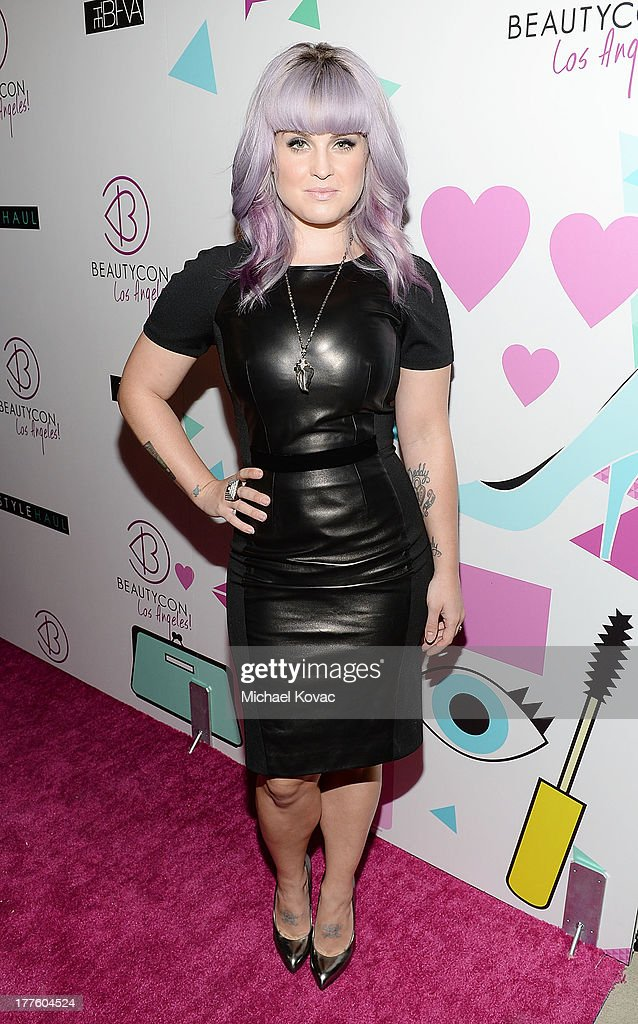 TV personality <a gi-track='captionPersonalityLinkClicked' href=/galleries/search?phrase=Kelly+Osbourne&family=editorial&specificpeople=156416 ng-click='$event.stopPropagation()'>Kelly Osbourne</a> attends BeautyCon LA, a fashion and beauty summit for the top digital influences online at Siren Studios on August 24, 2013 in Hollywood, California.