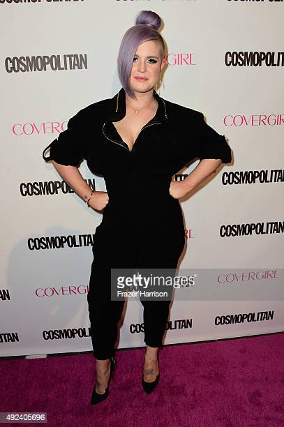 TV personality Kelly Osbourne attends Cosmopolitan's 50th Birthday Celebration at Ysabel on October 12 2015 in West Hollywood California