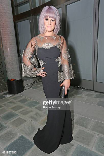 TV personality Kelly Osbourne attends PerrierJouet Celebration of The Art of Elysium's 7th Annual HEAVEN Gala presented By MercedesBenz at Skirball...