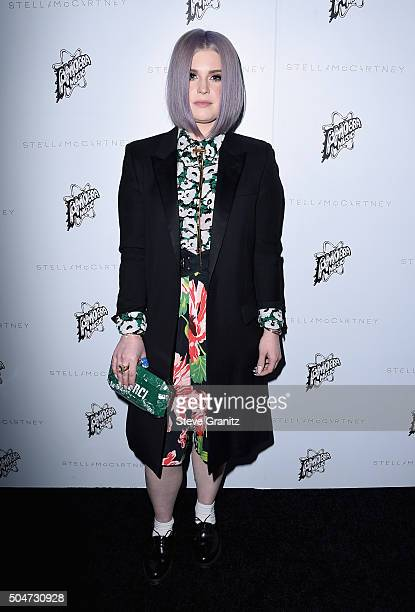 TV personality Kelly Osbourne attends Stella McCartney Autumn 2016 Presentation at Amoeba Music on January 12 2016 in Los Angeles California