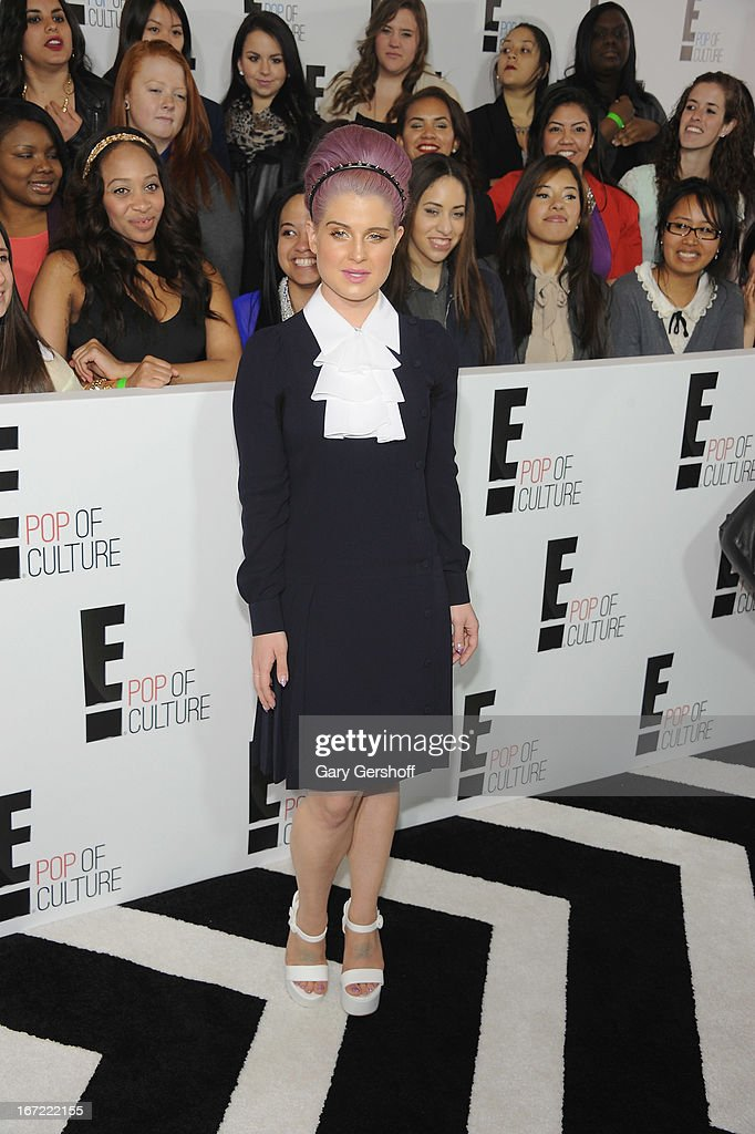 TV personality Kelly Osbourne attends the 2013 E! Upfront at The Grand Ballroom at Manhattan Center on April 22, 2013 in New York City.