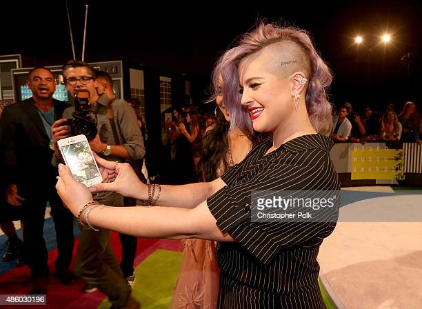 TV personality Kelly Osbourne attends the 2015 MTV Video Music Awards at Microsoft Theater on August 30 2015 in Los Angeles California