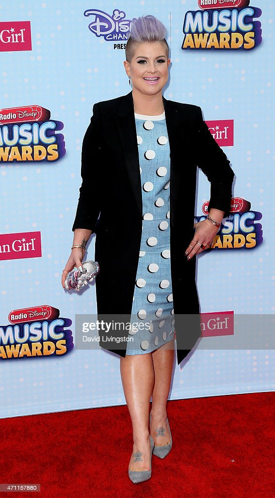 TV personality Kelly Osbourne attends the 2015 Radio Disney Music Awards at Nokia Theatre LA Live on April 25 2015 in Los Angeles California