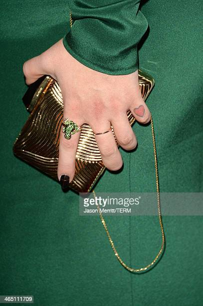 TV personality Kelly Osbourne attends the 56th annual GRAMMY Awards PreGRAMMY Gala and Salute to Industry Icons honoring Lucian Grainge at The...