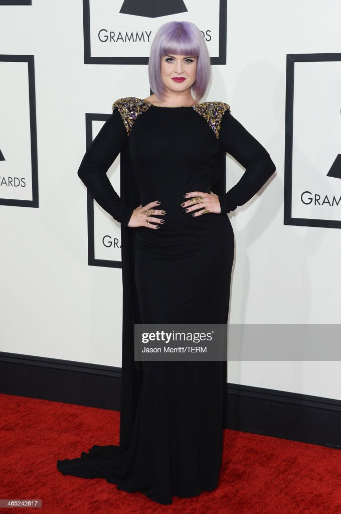 TV personality Kelly Osbourne attends the 56th GRAMMY Awards at Staples Center on January 26 2014 in Los Angeles California
