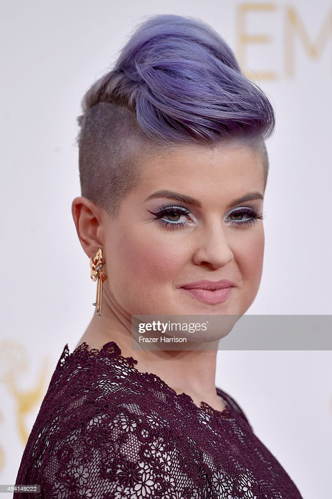 TV personality Kelly Osbourne attends the 66th Annual Primetime Emmy Awards held at Nokia Theatre LA Live on August 25 2014 in Los Angeles California