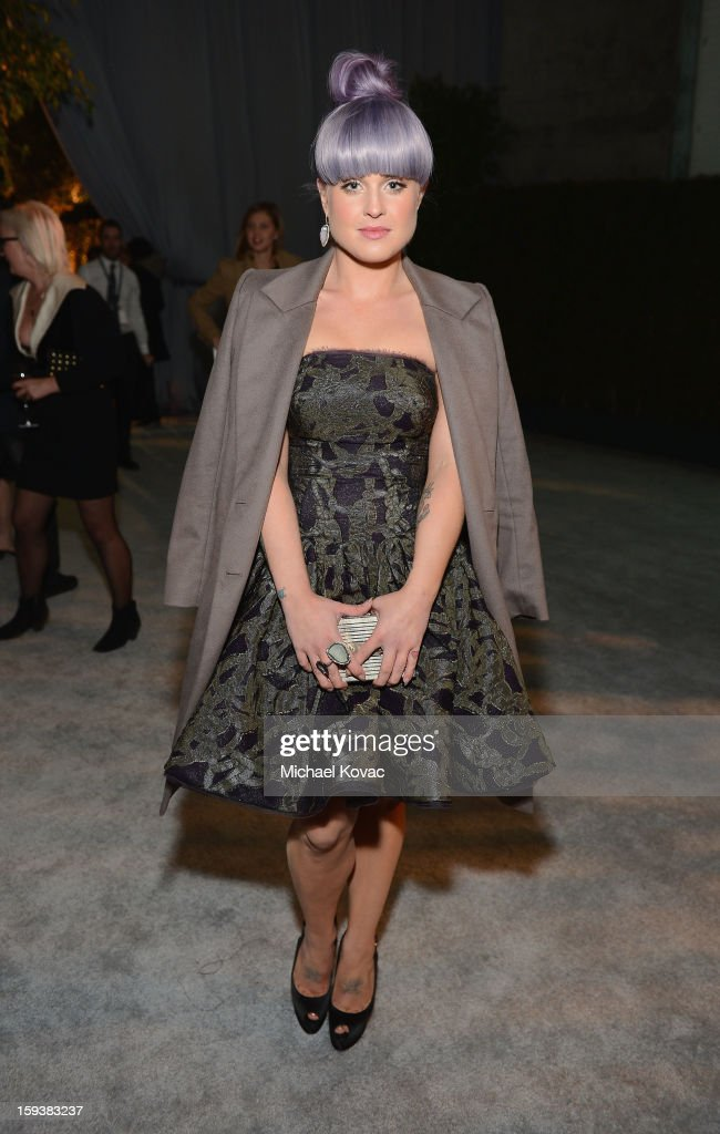 TV personality Kelly Osbourne attends The Art of Elysium's 6th Annual HEAVEN Gala presented by Audi at 2nd Street Tunnel on January 12, 2013 in Los Angeles, California.