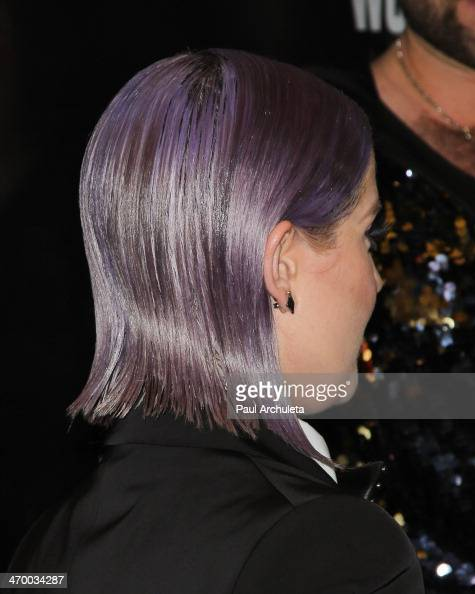 Personality Kelly Osbourne attends the 'RuPaul's Drag Race' season 6 premiere party at The Roosevelt Hotel on February 17 2014 in Hollywood California