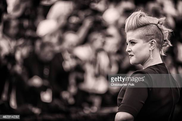TV personality Kelly Osbourne attends TNT's 21st Annual Screen Actors Guild Awards at The Shrine Auditorium on January 25 2015 in Los Angeles...