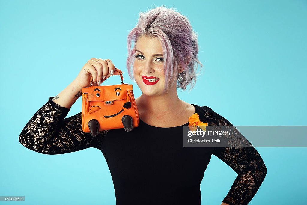 TV personality <a gi-track='captionPersonalityLinkClicked' href=/galleries/search?phrase=Kelly+Osbourne&family=editorial&specificpeople=156416 ng-click='$event.stopPropagation()'>Kelly Osbourne</a> poses for a portrait at the DoSomething.org and VH1's 2013 Do Something Awards at Avalon on July 31, 2013 in Hollywood, California.