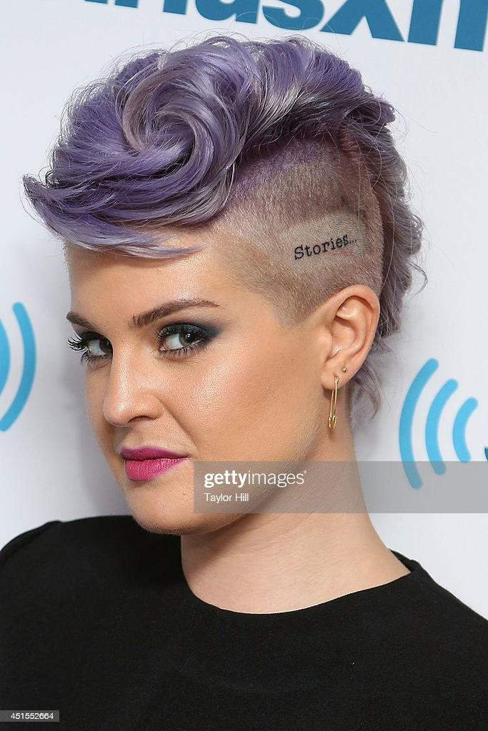 TV personality <a gi-track='captionPersonalityLinkClicked' href=/galleries/search?phrase=Kelly+Osbourne&family=editorial&specificpeople=156416 ng-click='$event.stopPropagation()'>Kelly Osbourne</a> visits the SiriusXM Studios on July 1, 2014 in New York City.