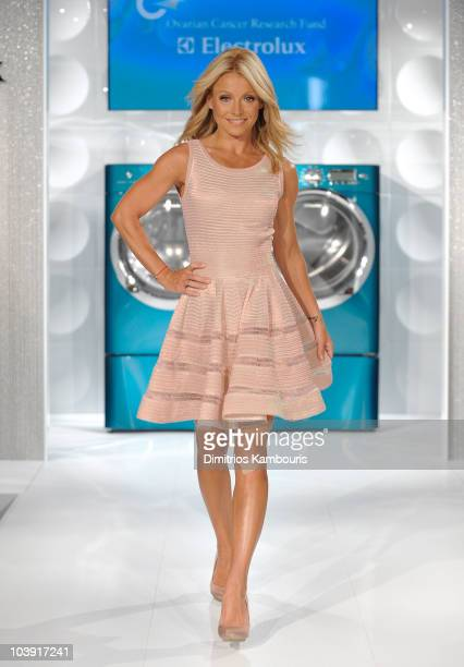 TV personality Kelly Ripa and Electrolux host a special fashion show in support of Ovarian Cancer Awareness Month at 82 Mercer on September 8 2010 in...