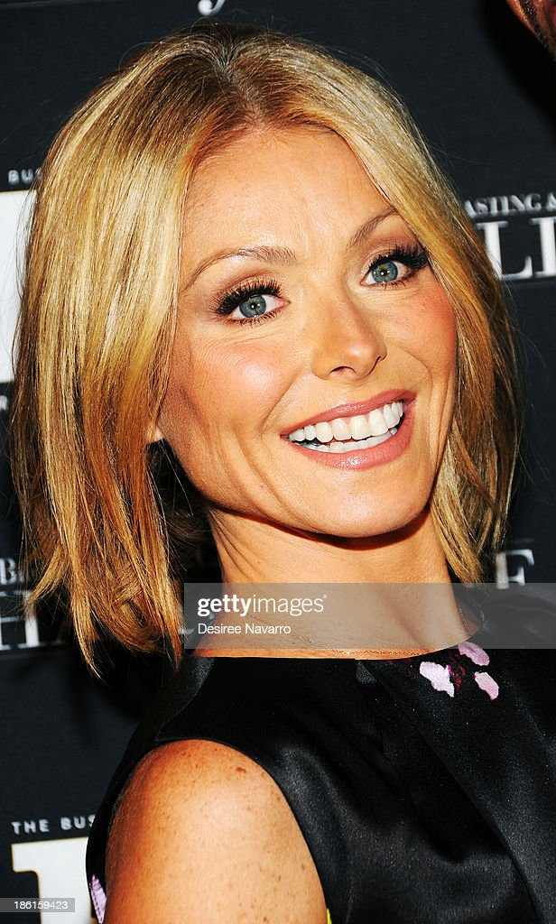 TV personality Kelly Ripa attends the Broadcasting And Cable 23rd Annual Hall Of Fame Awards dinner at The Waldorf Astoria on October 28, 2013 in New York City.