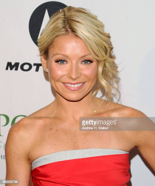 TV personality Kelly Ripa attends The Point Foundation's 3rd Annual Point Honors New York Gala at The Pierre Hotel on April 19 2010 in New York City