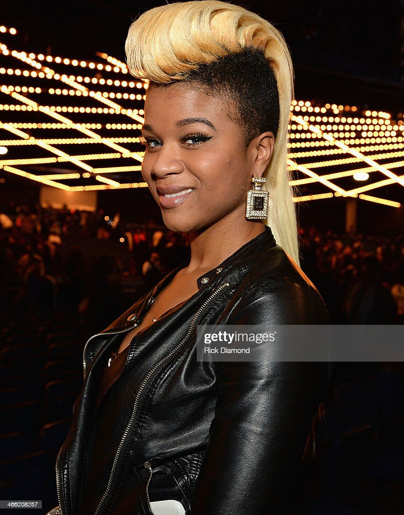 TV personality Kelsey Nykole at the Super Bowl Gospel Celebration 2014 at The Theater at Madison Square Garden on January 31, 2014 in New York City.