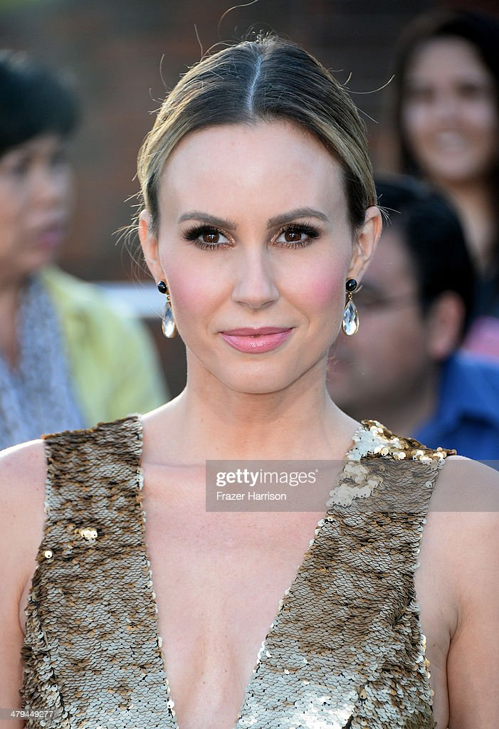 TV personality Keltie Knight arrives at the premiere of Summit Entertainment's 'Divergent' at the Regency Bruin Theatre on March 18, 2014 in Los Angeles, California.