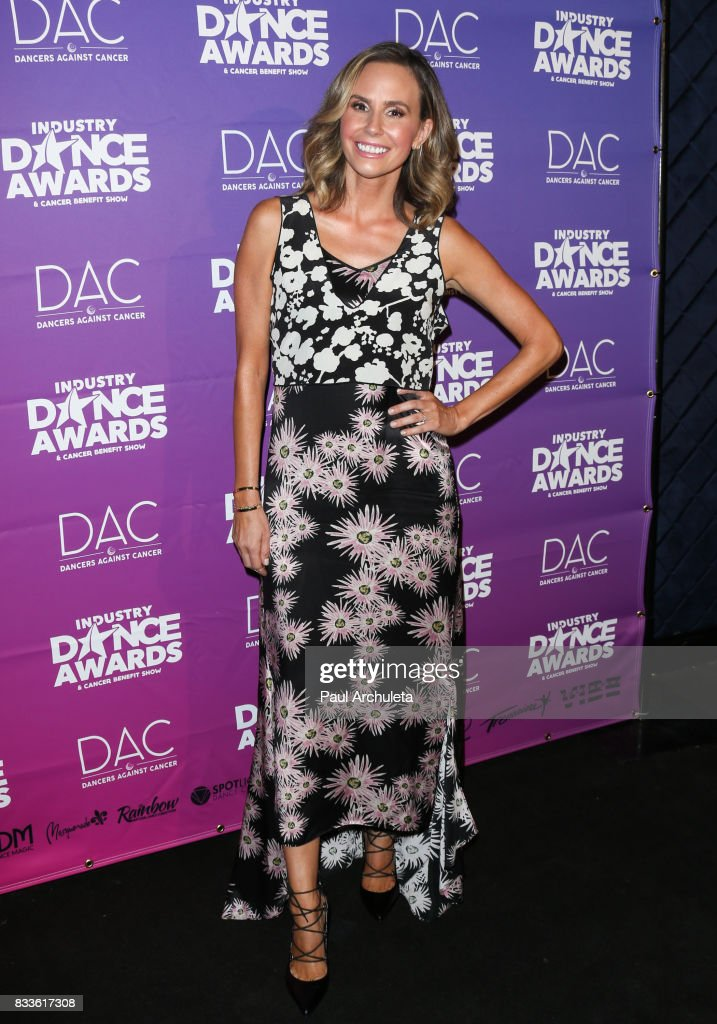 TV Personality Keltie Knight attends the 2017 Industry Dance Awards and Cancer Benefit show at Avalon on August 16, 2017 in Hollywood, California.