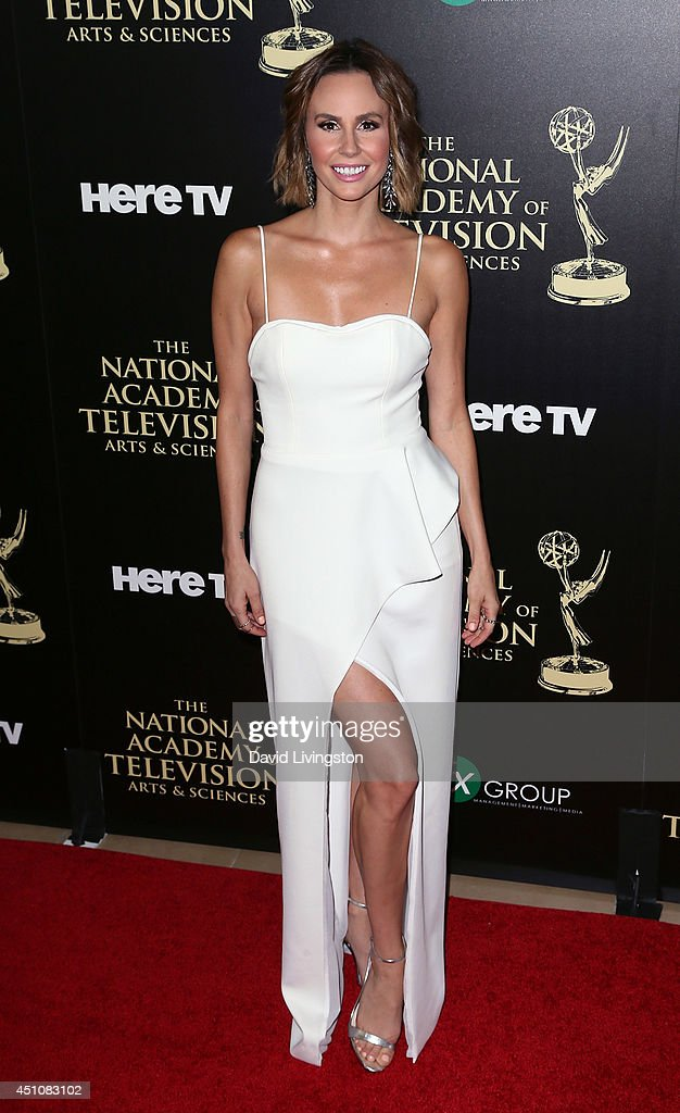 TV personality Keltie Knight attends the 41st Annual Daytime Emmy Awards at The Beverly Hilton Hotel on June 22, 2014 in Beverly Hills, California.