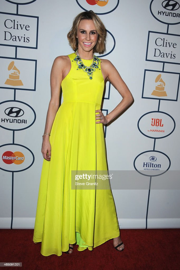 TV personality Keltie Knight attends the 56th annual GRAMMY Awards Pre-GRAMMY Gala and Salute to Industry Icons honoring Lucian Grainge at The Beverly Hilton on January 25, 2014 in Los Angeles, California.