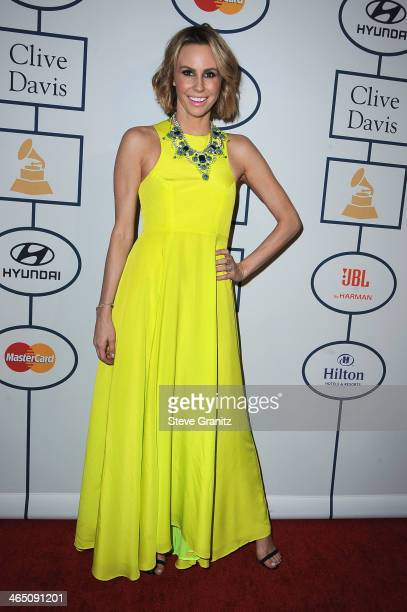TV personality Keltie Knight attends the 56th annual GRAMMY Awards PreGRAMMY Gala and Salute to Industry Icons honoring Lucian Grainge at The Beverly...
