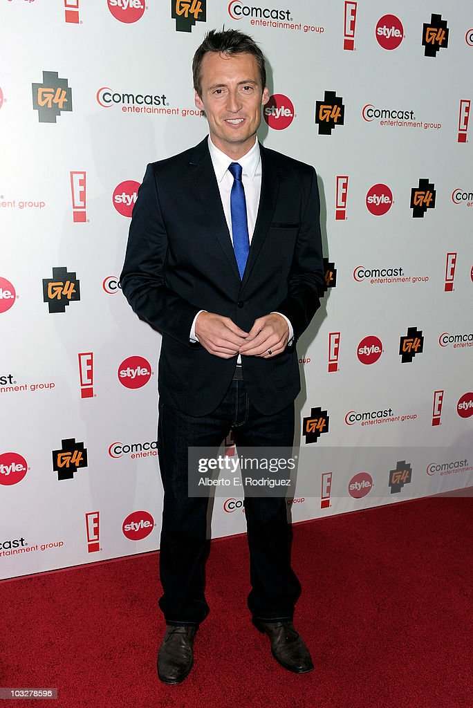 TV personality Ken Baker arrives to the Comcast Entertainment Group's Summer TCA Cocktail Party on August 6, 2010 in Beverly Hills, California.