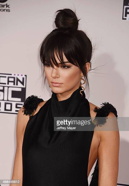 TV personality Kendall Jenner arrives at the 2015 American Music Awards at Microsoft Theater on November 22 2015 in Los Angeles California