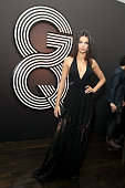 TV personality Kendall Jenner attends GQ and Giorgio Armani Grammys After Party at Hollywood Athletic Club on February 8 2015 in Hollywood California