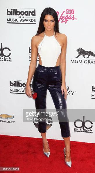 TV personality Kendall Jenner attends the 2014 Billboard Music Awards at the MGM Grand Garden Arena on May 18 2014 in Las Vegas Nevada