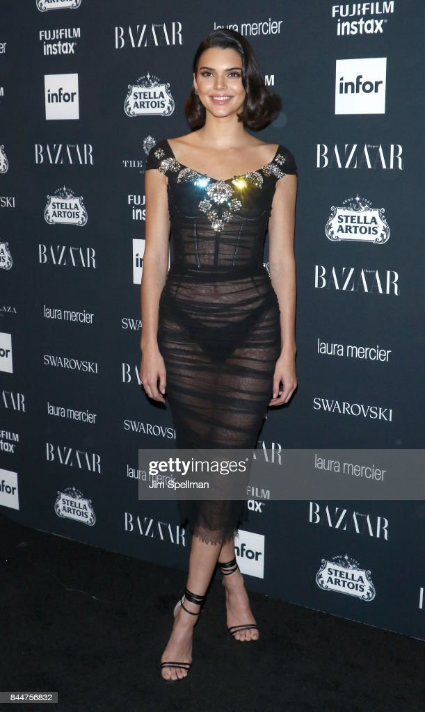 TV personality Kendall Jenner attends the 2017 Harper's Bazaar Icons at The Plaza Hotel on September 8, 2017 in New York City.