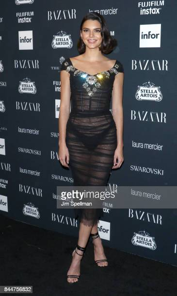TV personality Kendall Jenner attends the 2017 Harper's Bazaar Icons at The Plaza Hotel on September 8 2017 in New York City