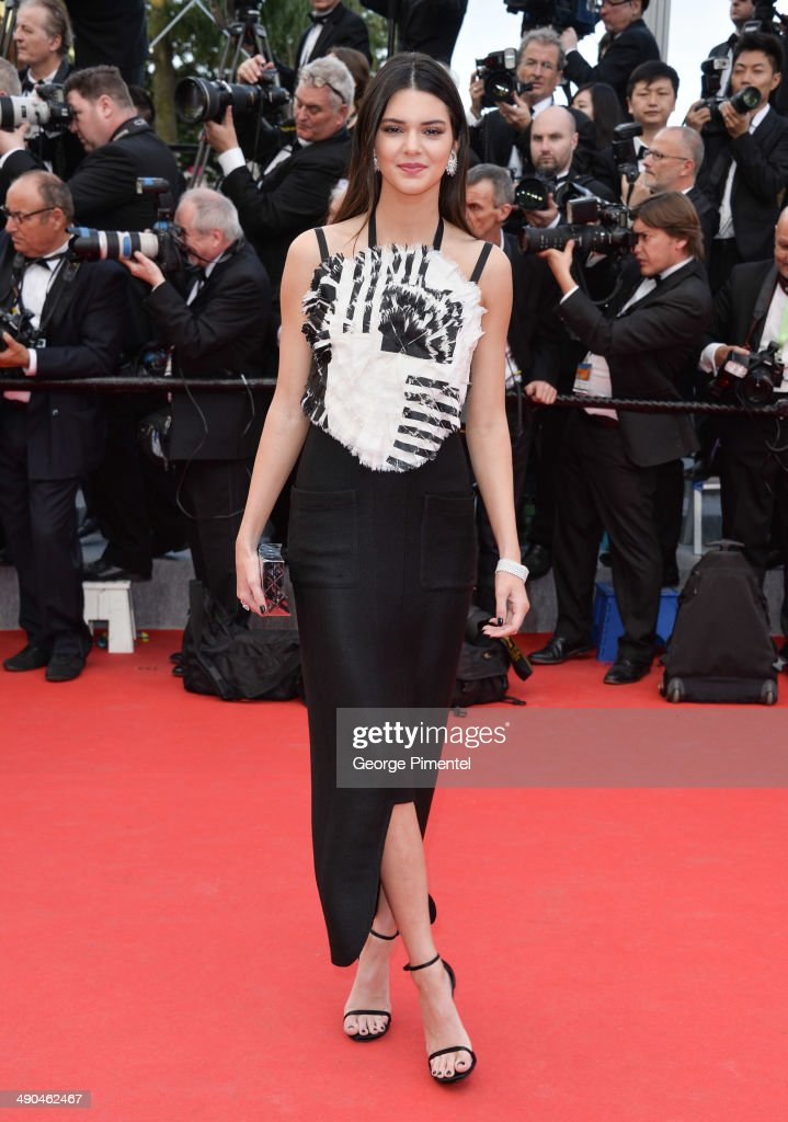 TV personality <a gi-track='captionPersonalityLinkClicked' href=/galleries/search?phrase=Kendall+Jenner&family=editorial&specificpeople=2786662 ng-click='$event.stopPropagation()'>Kendall Jenner</a> attends the opening ceremony and 'Grace of Monaco' premiere at the 67th Annual Cannes Film Festival on May 14, 2014 in Cannes, France.
