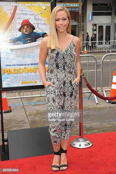 TV personality Kendra Wilkinson arrives at the Los Angeles premiere of 'Paddington' at TCL Chinese Theatre IMAX on January 10 2015 in Hollywood...