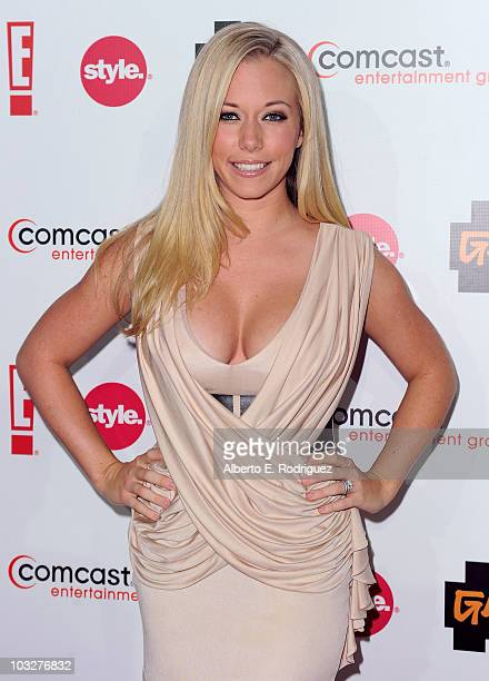 TV personality Kendra Wilkinson arrives to the Comcast Entertainment Group's Summer TCA Cocktail Party on August 6 2010 in Beverly Hills California