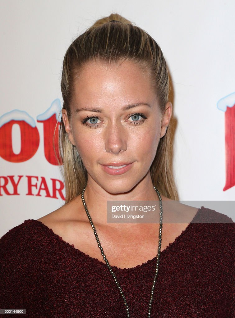 TV personality Kendra Wilkinson attends Knott's Berry Farm's Countdown To Christmas And Snoopy's Merriest Tree Lighting at Knott's Berry Farm on...