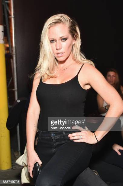 TV personality Kendra Wilkinson attends the 13th Annual ESPN The Party on February 3 2017 in Houston Texas