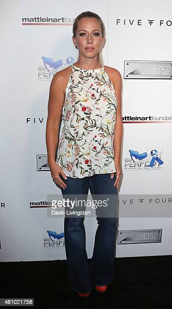 TV personality Kendra Wilkinson attends the Matt Leinart Foundation's 9th Annual Celebrity Bowl for Charity at Lucky Strike Bowling Alley on July 16...