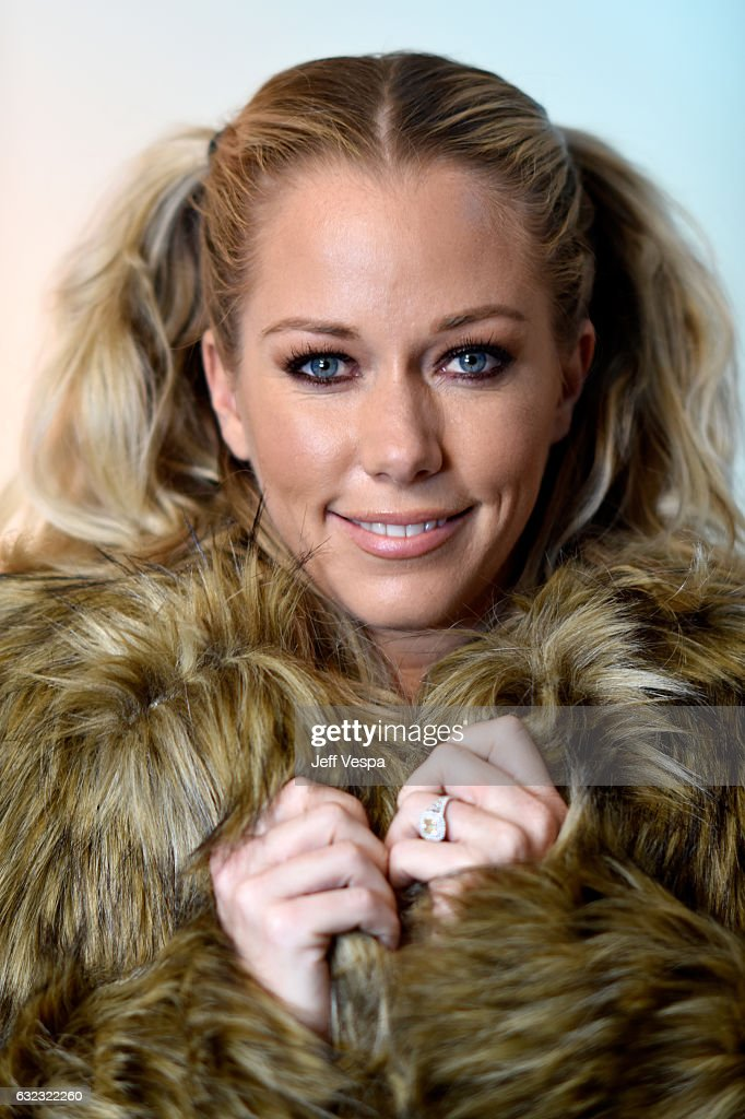 TV personality Kendra Wilkinson from the series 'Kendra on Top' poses for a portrait in the WireImage Portrait Studio presented by DIRECTV during the 2017 Sundance Film Festival on January 21, 2017 in Park City, Utah.