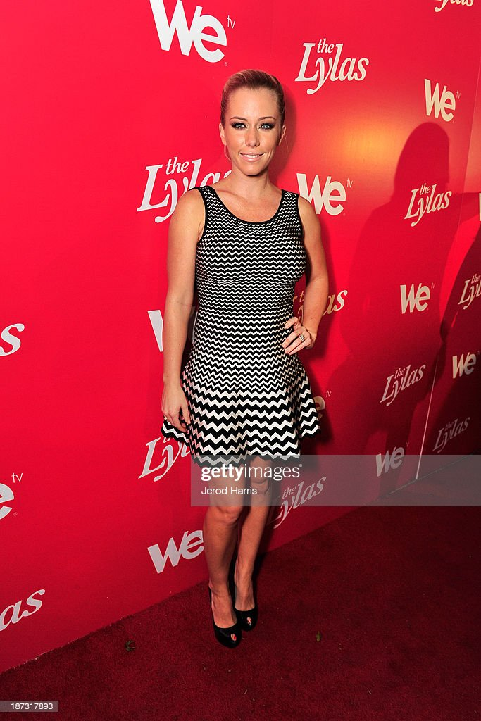 TV personality <a gi-track='captionPersonalityLinkClicked' href=/galleries/search?phrase=Kendra+Wilkinson&family=editorial&specificpeople=539064 ng-click='$event.stopPropagation()'>Kendra Wilkinson</a> is seen at WE tv's Celebration for The Premiere Of It's Newest Series 'The LYLAS' at the Warwick on November 7, 2013 in Hollywood, California.