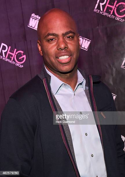 TV personality Kevin Frazier arrives at Dierks Bentley Whiskey Row on January 30 2015 in Scottsdale Arizona